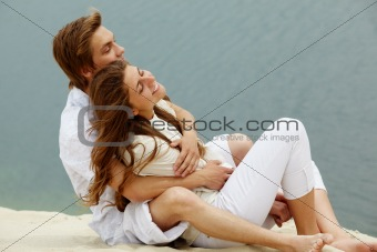 Relaxing couple