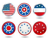 patriotic buttons