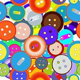 Seamless buttons