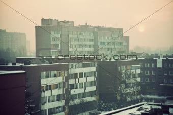 Apartment buildings in Sosnowiec