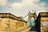 Historic bridge in Cincinnati, Ohio