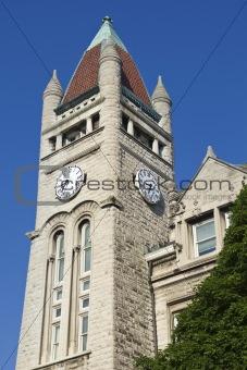 Clock Tower in Louisville