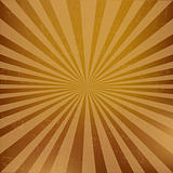 Vintage Sunburst Background