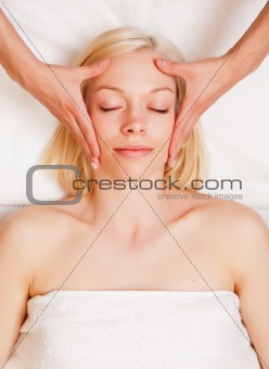 Stress Reduce Head Massage