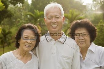 Senior Asian