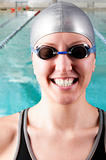 swimmer smile