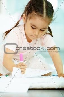 Cute artist