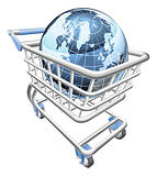 Globe shopping cart concept