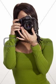 Gorgeous photographer