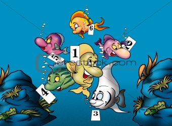 Fish and Numbers
