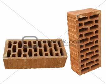 Brick in two views