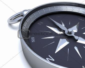 Chrome navigational compass