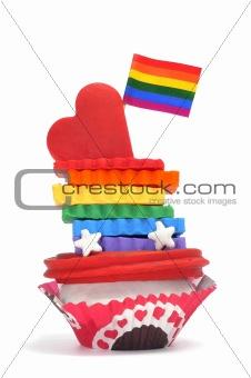 gay cupcake