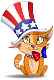 Independence Day Kitten