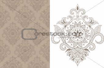 Asia Floral Pattern
