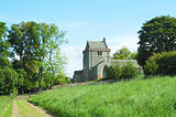 Crighton Church and track