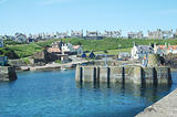 harbour at St. Abbs, Berwickshire