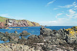 cliffs and coast at St. Abbs, Berwickshire