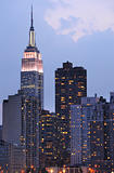 Midtown Manhattan Skyline Including Empire State Building