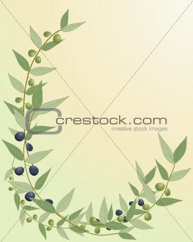 olive branch border