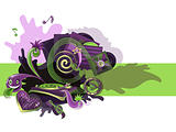 Green violet music