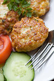 Chicken meat cutlets
