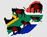 Big Five South Africa cross lines
