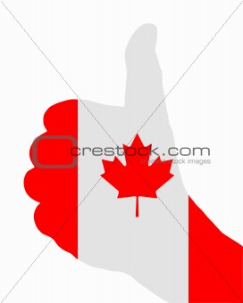Canadian finger signal