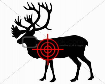 Caribou crosshair