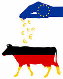 German cow and european subsidies