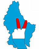 Luxembourg hand signal