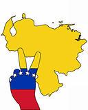 Venezuela hand signal