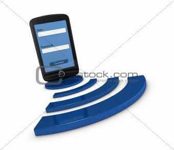 smartphone wifi access
