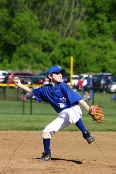 Boy Pitcher