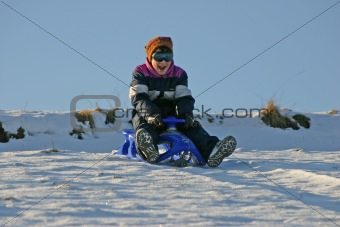 sledding