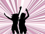 Females dancing