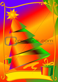 Christmas card (Vector)