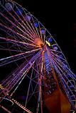 Ferris wheel at the funfair
