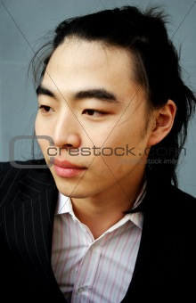 Asian male portrait