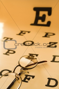 eye test chart