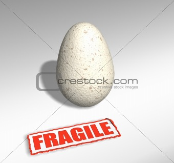 Fragile egg