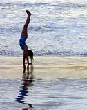 Joyout Handstand On The Beach