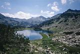 Pirin mountain, Muratovo lake, Muratov peak, Bulgaria, Balkans