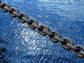 Chain on water