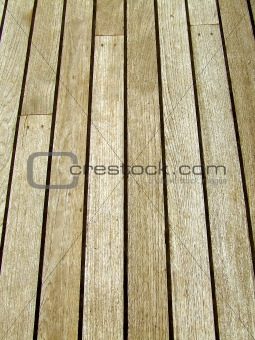 Wooden deck