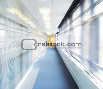 Corridor blur