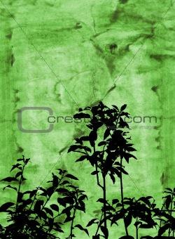 Grunge foliage