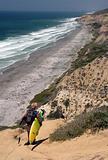 Black's Beach Surfer
