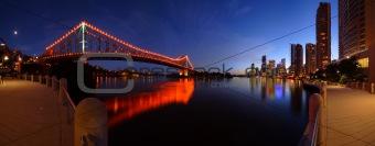 Brisbane River at Dusk