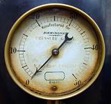 Old pressure meter